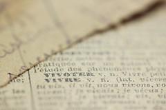 (Christelle Diawara) Tags: macromondays printedword macro christellediawara larousse vieuxdico ancien écriture