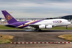 Thai Airways | Airbus A380-800 | HS-TUB | London Heathrow (Dennis HKG) Tags: aircraft airplane airport plane planespotting staralliance canon 7d 70200 london heathrow egll lhr thai thailand thaiairways tha tg airbus a380 a380800 airbusa380 airbusa380800 hstub