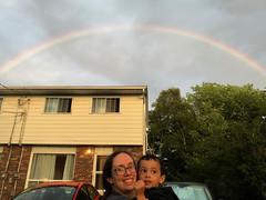 Rainbow Over Halifax (brownpau) Tags: iphonex canada novascotia halifax rainbow sky ezraordo ezra amyandezra