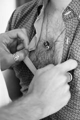 Je veux déboutonner ta chemise et embrasser ta peau juste à l'endroit de ton coeur. (just.Luc) Tags: gay undress uitkleden déshabiller bn nb zw monochroom monotone monochrome bw man male homme hombre uomo mann mannen men männer hommes hombres uomini hände handen mains hands homoerotic erotic parijs parigi paris îledefrance