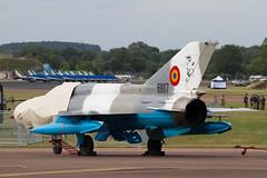 Mig-21 Lancer C 6807 Esc861 (spbullimore) Tags: 6807 aeriana baza 57 861 escadrila fairford 2019 riat af force air romanian romania c lancer mig21 mig