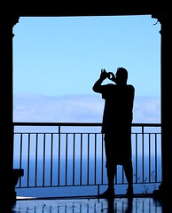 Click (Wackelaugen) Tags: silhouette photographer tourist puertodelacruz santacruz tenerife teneriffa spain europe canaries canaryislands canaryisles canon eos 760d photo photography stephan wackelaugen