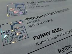 Tickets, HMM! (dorotheazinsser) Tags: macromondays printedwords tickets