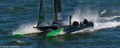 Australian SailGP Boats Rips Past Queen Mary 2 (dcstep) Tags: sonya7riii fe24105mmf4goss dxophotolab cowes cowesrace gp yacht dsc0765dxo australia australian gpsailboat queenmary2 cowessailgp