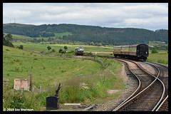 No D5394 14th July 2019 Strathspey Railway Broomhill (Ian Sharman 1963) Tags: no d5394 14th july 2019 strathspey railway broomhill 27106 27050 class 27 station diesel engine rail railways train trains loco locomotive passenger heritage line aviemore boat garten