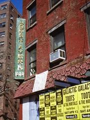 Joe's Tavern sign (Meredith Jacobson Marciano) Tags: sign vanishing nesmith chelsea 35mm