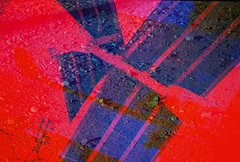 Portland Experiment (goodfella2459) Tags: nikonf65 fujifilmprovia100f 35mm e6 slidefilm analog color colour multipleexposure doubleexposure experimental abstract portland oregon filters hoya hoyapopcolorfilters lensfiltersgroup