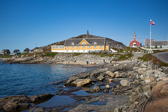 Nuuk, Greenland, Denmark, North America (Miraisabellaphotography) Tags: nuuk greenland northamerica denmark nature travel adventure travelling colonialharbour harbour houses city