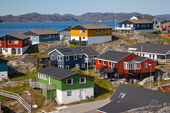 Nuuk, Greenland, Denmark, North America (Miraisabellaphotography) Tags: nuuk greenland northamerica denmark nature travel adventure travelling houses colorful city mosquitovally