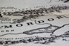 dalla mappa della Terra di Mezzo (susi_59) Tags: macromondays printedword ilsignoredeglianelli jrrtolkien