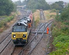 Oil Skins? (Richie B.) Tags: 70812 general electric class 70 colas rail dalston oil terminal cumbria 6c35