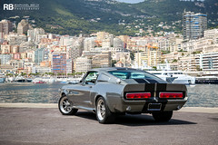 Shelby GT 500 Eleanor (Raphaël Belly Photography) Tags: rb raphaël monaco principality principauté mc montecarlo monte 98000 carlo hotel de paris french riviera south france luxury supercar supercars spotting car cars voiture automobile raphael belly canon eos 5d photographie photography casino passion shooting séance photo shoot photoshoot 98 shelby gt 500 eleanor gt500e gt500 e grey grise grigio silver fastback ford mustang 60 secondes chrono gone in seconds