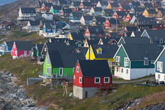 Nuuk, Greenland, Denmark, North America (Miraisabellaphotography) Tags: nuuk greenland northamerica denmark nature travel adventure travelling mosquitovally houses city