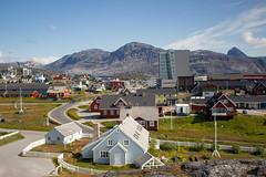 Nuuk, Greenland, Denmark, North America (Miraisabellaphotography) Tags: nuuk greenland northamerica denmark nature travel adventure travelling mountains hills mountain houses city bigmalene