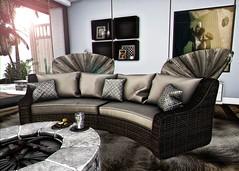 B#69 (Catlo Cyberstar) Tags: backbone bazar decor deco furniture secondlife sofa fireplace fameshed event