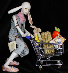 Trying to fit in (bentwhisker) Tags: doll bjd resin anthro lumedoll baughn 9775