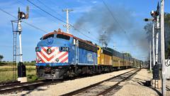 Express Train (Robby Gragg) Tags: metra f7 308 union