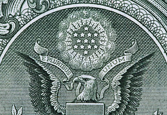 E Pluribus Unum (arbyreed) Tags: arbyreed macromondays printedword epluribusunum outofmanyone money dollarbill banknote usdollarnote greatsealoftheunitedstates close closeup