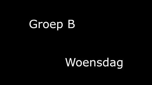Groep_B_Woensdag