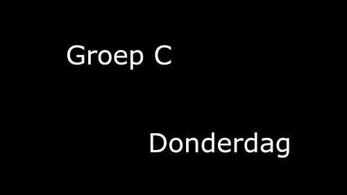 Groep_C_Donderdag