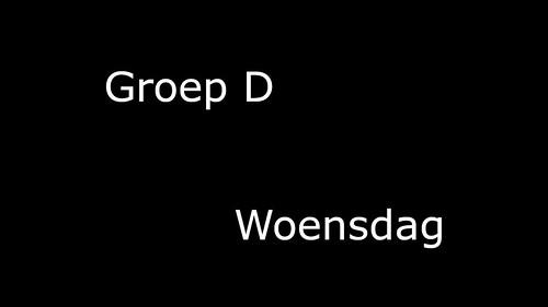 Groep_D_Woensdag