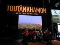 Paris 122 (molaire2) Tags: toutankhamon tout ankh amon exposition expo paris 2019 egyptologie egypte tresor or tombeau halles villette pharaon tutankhamun