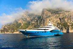 Mega Yacht (Antonio Ciriello PhotoEos) Tags: capri isola island capriisland campania napoli italia italy seascapes mare sea canon 5dmarkiv 5d eos5dmarkiv canon5dmarkiv canon5d canoneos5dmarkiv 2470 canon2470 2470f4 yacht