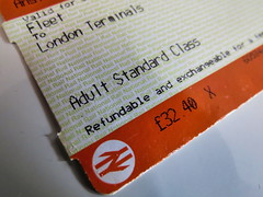 2019-08-12 Canon PowerShot SX40 HS F2.7 4.3 mm : Ticket, Printed Word, Macro Monday, Macro, Rail (Nomadic Mark) Tags: printedword rail macro macromonday ticket