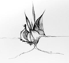 The duck is caught smoking #drawing #sketch #sketchbook #illustration #penandink #ink #progressive #scribbleart #art #graphicart #abstractart #nonsense #duck (webloreArt) Tags: drawing sketch sketchbook illustration penandink ink progressive scribbleart art graphicart abstractart nonsense duck