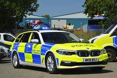 WK19 BVJ (S11 AUN) Tags: devon cornwall police bmw 530d xdrive 5series auto touring rpu roads policing unit anpr traffic car 999 emergency vehicle wk19bvj