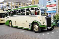 BATLEY 110819 EHL335 (SIMON A W BEESTON) Tags: dewsburybusmuseum batley 724 westriding roe leyland tiger ps213a ehl335