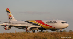 Airbus A340-300 Air Belgium (Moments de Capture) Tags: airbus a340300 a340 340 airbelgium ooaba aircraft plane avion aeroport airport spotting lfpg cdg roissy charlesdegaulle onclejohn canon 5d mark3 5d3 mk3 momentsdecapture