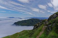 Le sentier bleu du lac bleu, Pyrénées, France (3/4) (olivier.amiaud) Tags: nuage merdenuages pyrénées sentier randonnée sommet ciel sony alpha6000