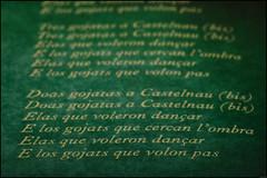 Castelnau par Les compagnons du gras jambon (Frank PRAT) Tags: macromondays printedwords frankpratphotographie