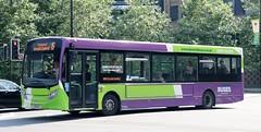 Ipswich Buses 105 YX66WCJ working Ipswich local services. (Gobbiner) Tags: yx66wcj e200 ipswichbuses adl 105 enviro