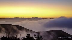 Dawn (Bob Gunderson) Tags: california marincounty marinheadlands northbay northerncalifornia dawn sunrise sanfranciscobay goldengatebridge fog
