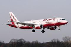 D-ABDJ (PlanePixNase) Tags: aircraft airport planespotting haj eddv hannover langenhagen airberlin airbus 320 a320