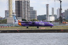 Flybe G-PRPC LCY 06/08/19 (ethana23) Tags: planes planespotting aviation avgeek aeroplane aircraft airplane bombardier flybe dehavillandcanada dehavilland dash8 q400