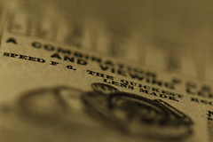 Printed Word (murraymike89410) Tags: sequim washington 100mmlmacro macromondays printedword hmm