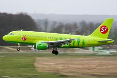 VP-BTX (PlanePixNase) Tags: aircraft airport planespotting haj eddv hannover langenhagen s7 sibir airbus 319 a319