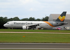 LY-VEB (wiltshirespotter) Tags: manchester airbus a320 thomascook