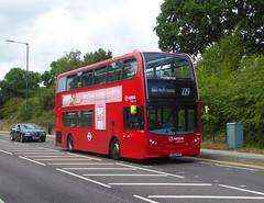 AL T306 - LK65ENU - GRAVEL HILL BEXLEYHEATH - SUN 21ST JULY 2019 (Bexleybus) Tags: arriva london bexleyheath kent da7 gravel hill adl dennis enviro 400 tfl route 229 t306 lk65enu