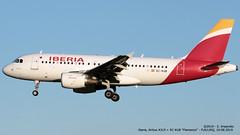Iberia, Airbus A319 > EC-KUB (FLR/LIRQ - 10.08.2019) (Ernesto Imperato - Firenze (Italia)) Tags: iberia eckub flamenco airbus a319 airbusa319 firenze peretola vespucci flr lirq
