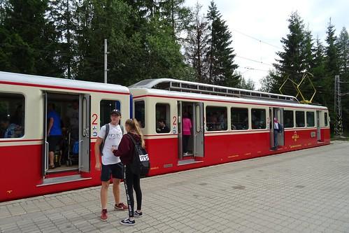 20190802 05 Strbske Pleso - Train station