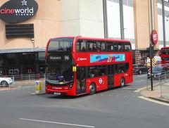 SLN 12382 - YX16OGW - BEXLEYHEATH BROADWAY - SUN 21ST JULY 2019 (Bexleybus) Tags: stagecoach london selkent 12382 yx16ogw bexleyheath kent da7 shopping centre cinema adl dennis enviro 400 mmc tfl route 96