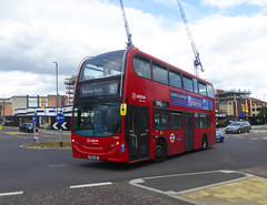 AL T296 - KX61LDL - HIGHLAND ROAD BEXLEYHEATH - SUN 21ST JULY 2019 (Bexleybus) Tags: arriva london bexleyheath kent da7 shopping centre highland road adl dennis enviro 400 tfl route 301 new 269 t296 kx61ldl