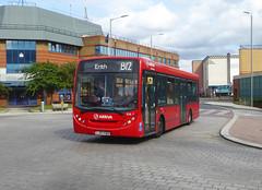 AL ENL7 - LJ07EBO - ARNSBERG WAY BEXLEYHEATH - SUN 21ST JULY 2019 (Bexleybus) Tags: arriva london bexleyheath kent da7 shopping centre police station adl dennis enviro 200 tfl route b12 enl7 lj07ebo