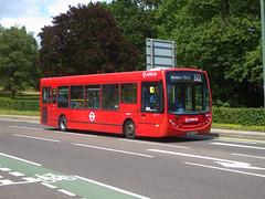 AL ENX25 - GN09AWA - GRAVEL HILL BEXLEYHEATH - SUN 21ST JULY 2019 (Bexleybus) Tags: arriva london bexleyheath kent da7 gravel hill adl dennis enviro 200 tfl route b12 enx25 gn09awa