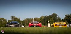 McLaren 720s - Ferrari Enzo - Pagani Zonda C12 (GPE-AUTO) Tags: chantilly artsetelégance art elégance concours grass garden sunset sun sol soleil jardin chateau castle castillo race car racecar legacy mclaren 720s mclaren720s ferrari enzo ferrarienzo pagani zonda c12 zondac12 paganizonda