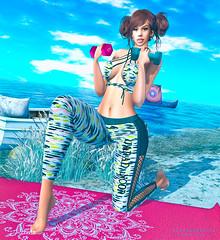 I don't change, I'm still fit (Silvia Galtier) Tags: silviagaltier alananazareowyn sl secondlife fashionnatic cosmopolitan gym truth bento blog atapuerca atapuercaii